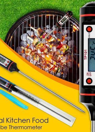 Кухонний кулінарний термометр електронний зі щупом в футлярі