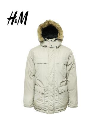 Мужская пуховая куртка h&m оригинал