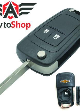 Корпус Выкидного Ключа Chevrolet Aveo, Cruze, Epica На 2 Кнопки