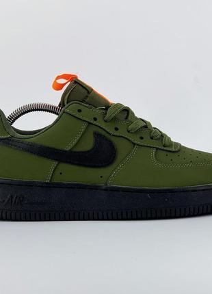 Nike air force 1 green/orange🆕 шикарные кроссовки найк🆕 купить...