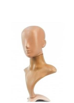 Манекен Голова Женская на подставке (бюст)