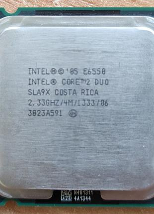 CPU Intel Core 2 Duo E6550 (2.33 GHz,4M Cache,1333 MHz FSB) LG...