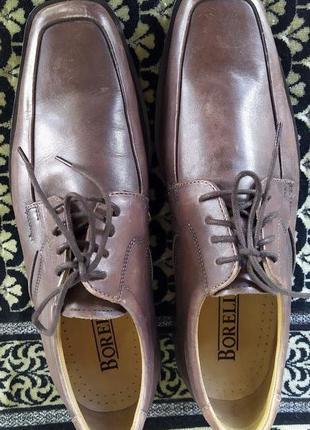 Мужские кожаные туфли Borelli