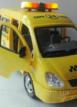 Машинка газель маршрутное такси Автопарк Play Smart