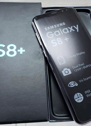 Samsung S8 Plus duos 64gb (black)