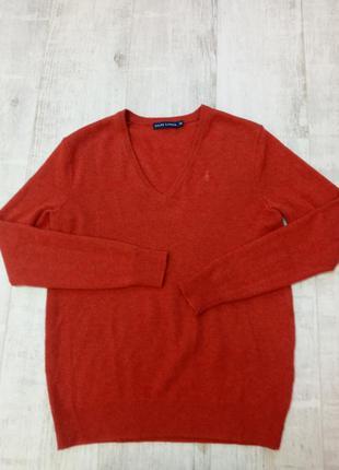 100%шерсть джемпер свитер реглан ralph lauren xs-m