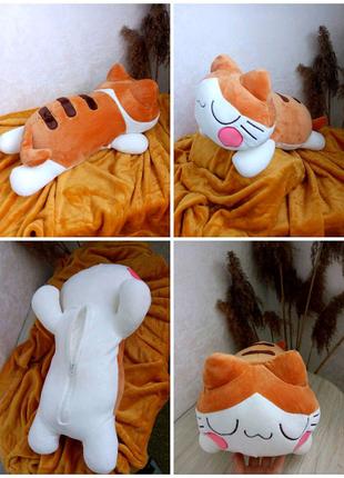 АКЦИЯ! Котик плед подушка 3в1
