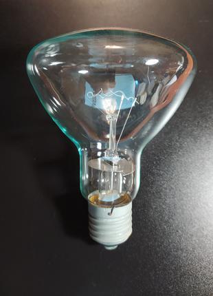 Лампа накаливания 300вт приплюснута 220-230в цоколь Е27 1996 г.в.