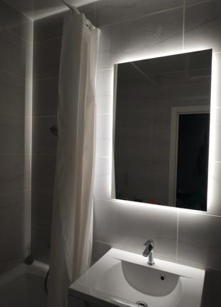 Зеркало с подсветкой для ванной комнаты DéSec Alibi 40 * 80 см