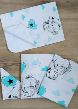 Универсальный комплект детского постельного белья