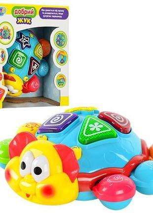 Развивающая музыкальная игрушка Limo Toy 7013 Добрый жук