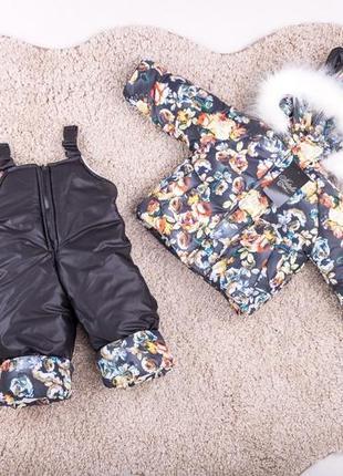 Детский зимний комбинезон: куртка, комбинезон