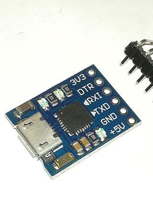 Usb - Ttl адаптер MCU2012 на чипе CP2102 модуль загрузчика