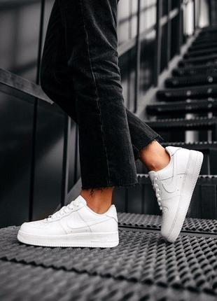 "Кроссовки nike air force 1 07 ""white"""