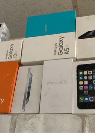 Оригинальные коробки для iPhone, AirPods, iPad, Samsung и другие