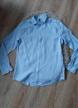 Фирменная мужская рубашка H&M