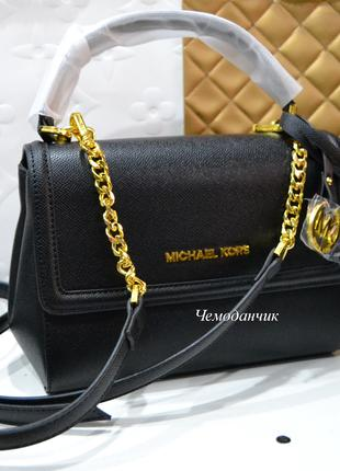 Женская сумка Michael Kors Ava Майкл Корс черная