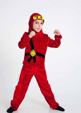 Карнавальный костюм Ниндзяго, ниндзя Кай