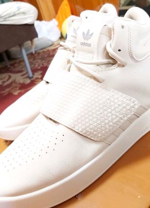 Adidas tubular white