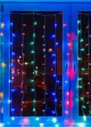 Гирлянда Водопад 240 LED, размер 2х2м Мультицвет RD-080