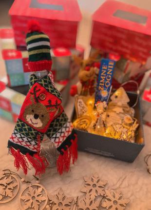Боксы Christmas Декор Подарок Рождество св. Николая Новый год