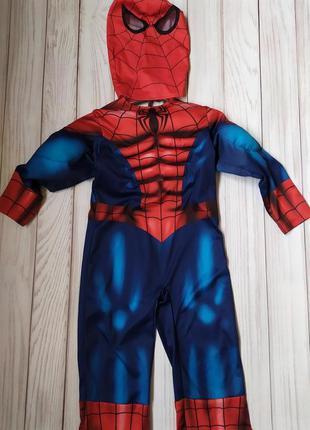 Костюм человек паук 3-4 года