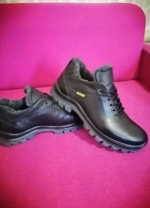 Мужские зимние ботинки, зимние туфли