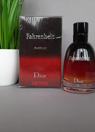 ❤🖤оригинал 🖤❤75 мл dior fahrenheit le parfum восточный,пряный