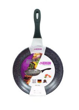 Сковорода с мраморным покрытием 26 см Benson BN-566