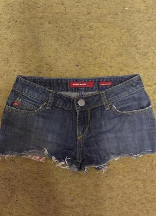 Оригинальные шорты miss sixty