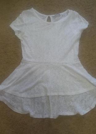 Нарядная блузка футболка