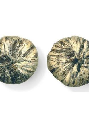 Белый связанный чай Жасминовый шар 100 г.