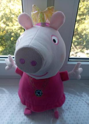 Говорящая мягкая игрушка Свинка Пеппа