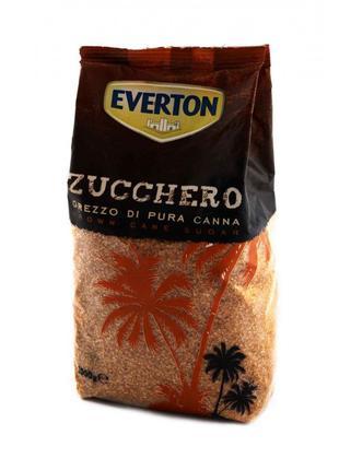 Тростниковый сахар Everton коричневый 1кг