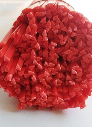 ABS Пластиковые Прутки для Пайки АБС красные Треугольник Пластика