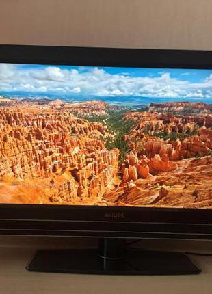 "Большой телевизор Philips 42"" Full HD, Амбилайт подсветка, Сабвуф"