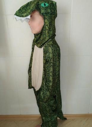 Карнавальный костюм детский крокодил