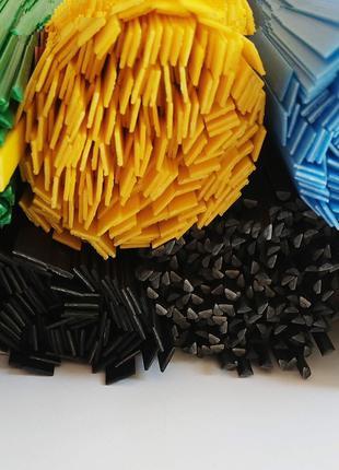 Пластиковые прутки ABS разные цвета микс абс пайка пластмассы