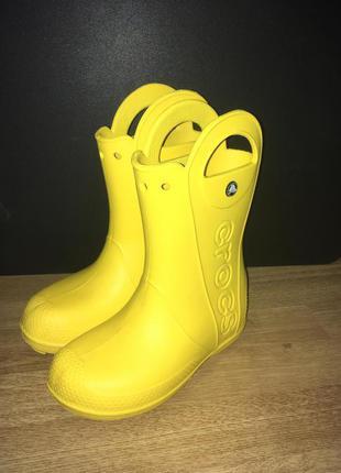 Дождевые сапоги Crocs