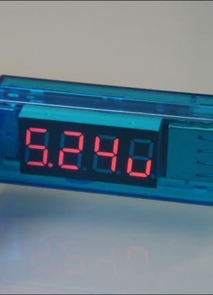 Компактный USB-тестер зарядки