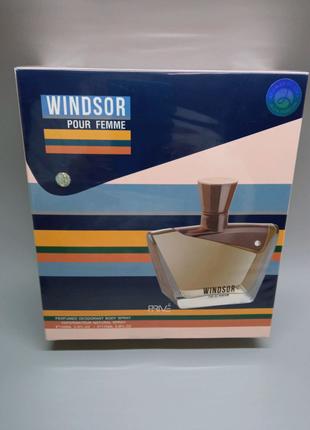 Набор женский, туалетная вода + дезодорант Windsor pour femme