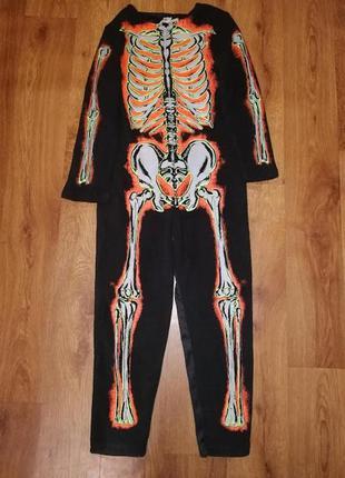 Детский костюм, карнавальный костюм скелета на хэллоуин, hallo...