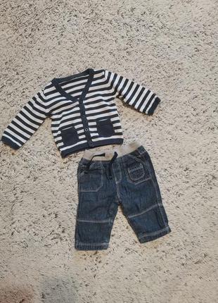 Комплект мальчику на 3-6 месяцев, одежда на 3-6 месяцев мальчи...