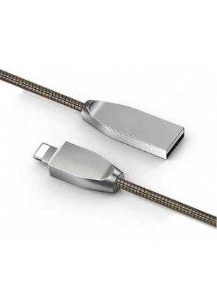 Кабель для Iphone EVOC Full metal jacket lightening quick cable
