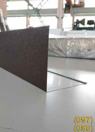 Угол наружный из оцинкованной стали, наружный уголок из металла