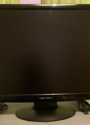 "Монитор 19"" с колонками HANNS.G HH191HDP DVI + VGA кабеля в на..."
