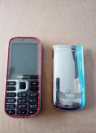 Телефон кнопочный Nokia 3720c на 2 сим-карты под восстановление