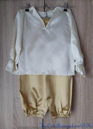 Новый карнавальный костюм: кофта и штаники любой образ на маль...
