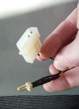 Переходник для кулера 2 pin на Molex
