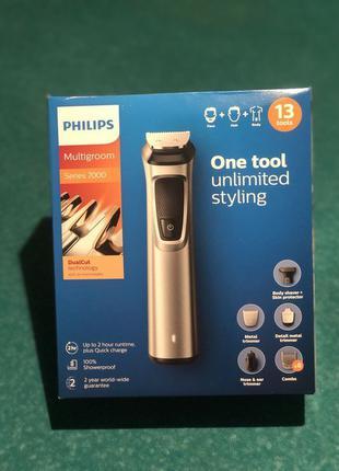 Philips триммер 13 в 1 для бороды,волос и тела MG7715/13 тример